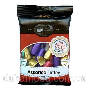 Сливочные конфеты ассорти без сахара,  Stockley's