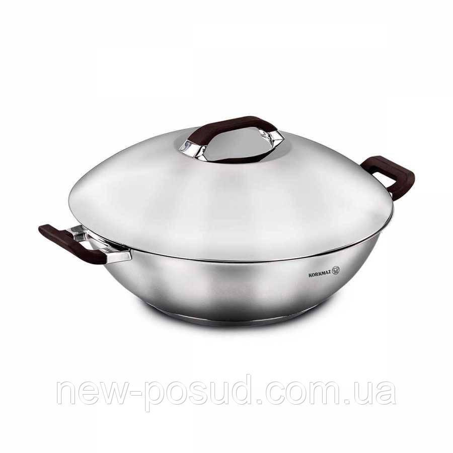 Сковорода-вок Korkmaz Esta 32 см A1057