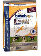 Корм Bosch (Бош)  ADULT MINI LAMB & RICE для собак малых пород Ягненок с Рисом 3 кг
