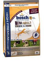 Корм Bosch (Бош)  ADULT MINI LAMB & RICE для собак малых пород Ягненок с Рисом 15 кг
