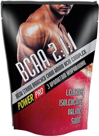 Аминокислоты Power Pro BCAA 500g