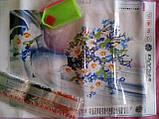 """Набір для творчості diamond mosaic алмазна живопис """"Ромашкове щастя"""", фото 2"""