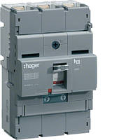 Автоматичний вимикач 250А, 3п, 40kA, Тфикс./Мфикс, Hager HNB250H
