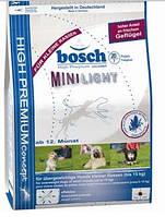 Корм Bosch (Бош) Mini Light для собак малых пород склонных к лишнему весу 1 кг