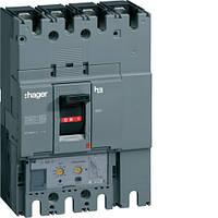 Автоматичний вимикач 400А, 3п, 50kA, Тфикс./Мфикс, Hager HND400U
