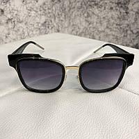 Очки Dior Sunglasses Sideral 1 J6C/KU Black/Black реплика
