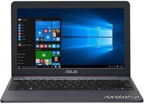 Ноутбук Asus E203NA 11.6', HD (1366 х 768), Intel Pentium N4200 (up to 2.5 ГГц), 4 ГБ, отсутствует, 64 ГБ eMMC, Intel HD Graphics, No ODD, Bluetooth,