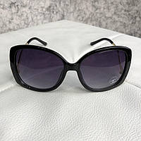 Очки Chanel Sunglasses Oval 5146 Black/Gold реплика