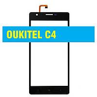 Cенсорный экран Oukitel C4 BLACK