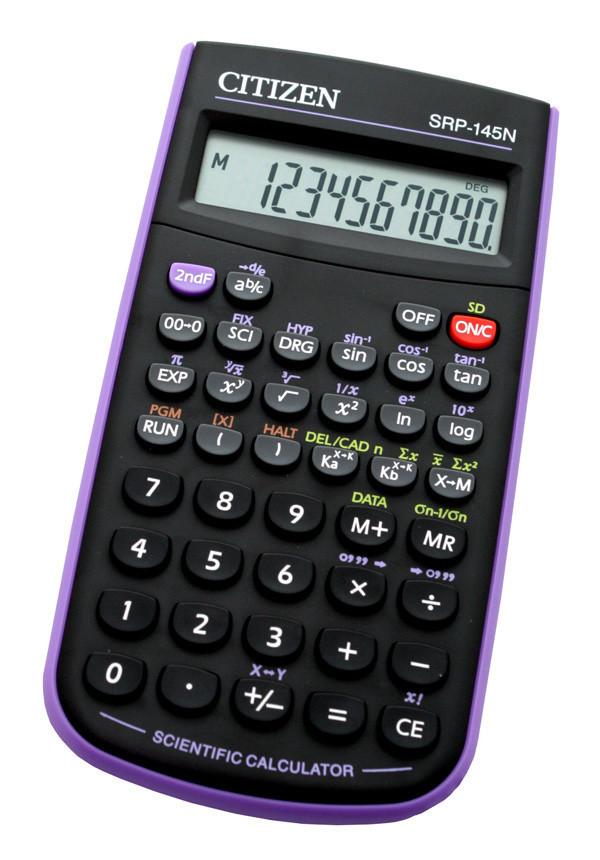 Калькулятор Citizen SRP-145NPU научный, 86 формул, программируемый