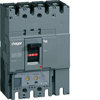 Автоматичний вимикач 630А, 3п, 50kA, LSI, Hager HND630H