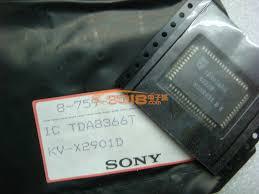 Микросхема TDA8366H демонтаж