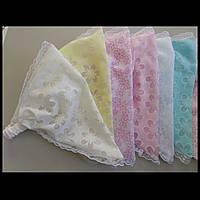 Косынка резинка детская для девочек 2-4 года
