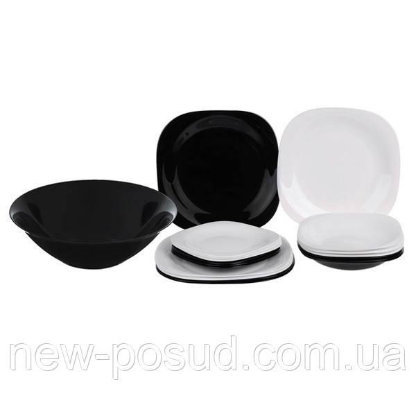 Сервиз столовый 19 пр Luminarc Carine Black and White N1491