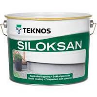 Фасадная силиконовая краска Текнос Силоксан,  9л , Б3