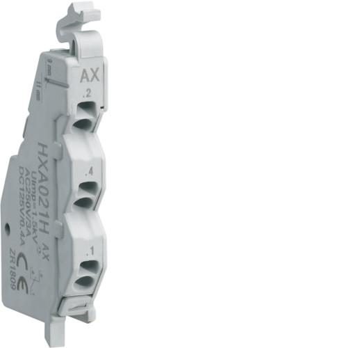 Дополнительный контакт для автоматических выключателей HXA021H Hager