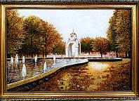 Зеркальная струя Харьков большая красивая картина из янтаря