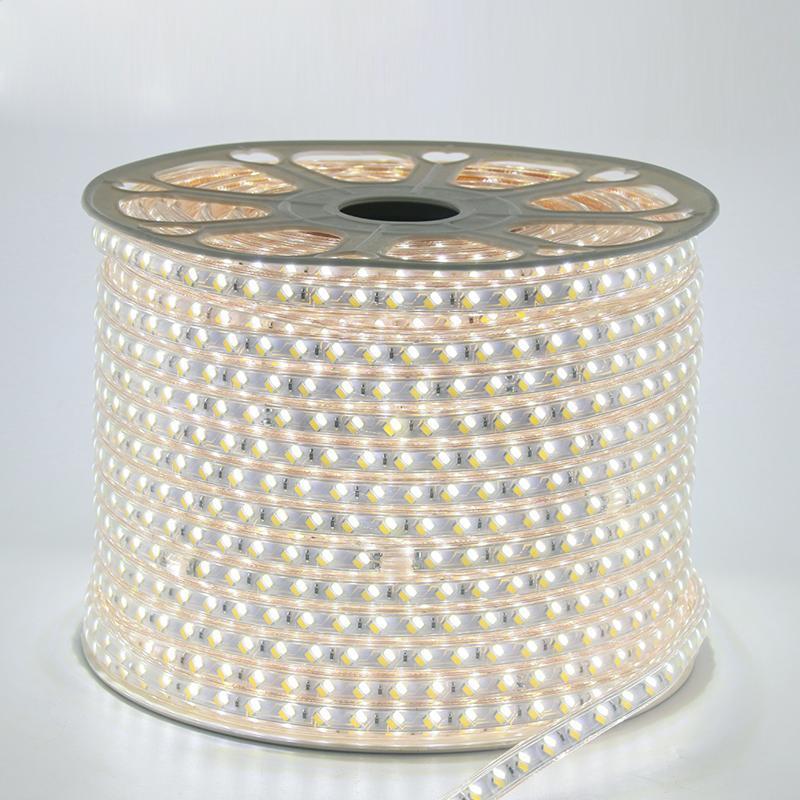 Лента светодиодная 220V smd 5730-52; белый