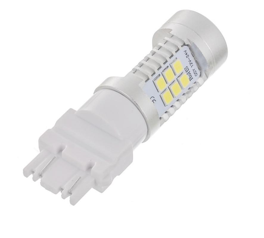 Автолампи LED, T25, P27W, 3156, 12V, 22 SMD 3535, Біла