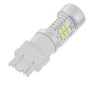 Автолампа LED, T25, P27W, 3156, 12V, 22 SMD 3535, Белая, фото 1