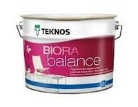 Текнос Биора Баланс, 9л, Б3 - матовая краска для стен