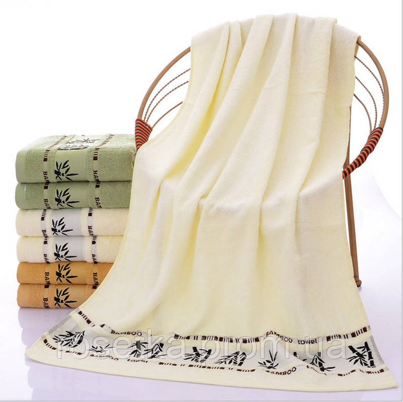 Швидковисихаючий 100% бамбуковий рушник Bamboo towel 70 * 140 см.