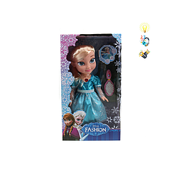"""Кукла """"Холодное сердце"""" Frozen (звукавые и световые эффекты) работает на батареи"""