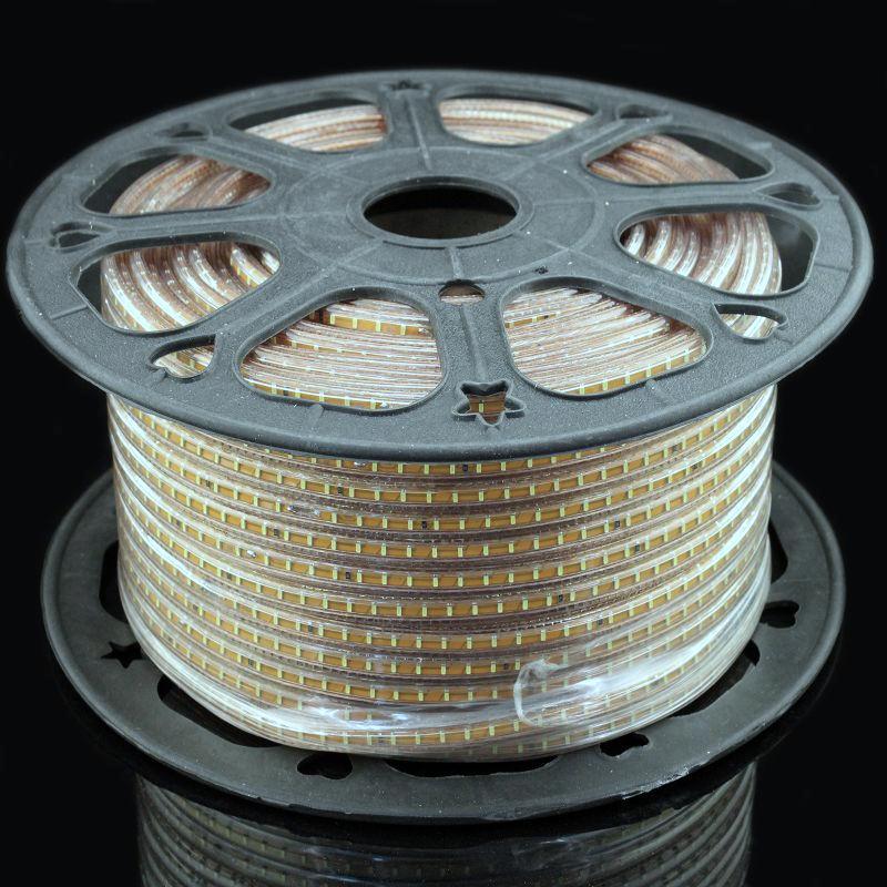 Лента светодиодная 220V smd 3014-120; белый
