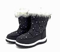 Сноубутсы Детские Новые Snow Black  32 размер
