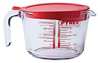 Кружка мерная PYREX Classic 264P000 1.0 литра с крышкой