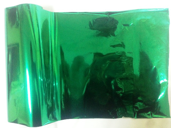 Фольга Ukrcolor №1220 ( Metallic Emerald ) для термоклея Siser P.S. Adhesive ( рулон 21 см х 30 метров )