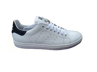 Мужские кроссовки Adidas Stan Smith  белый(кожа)