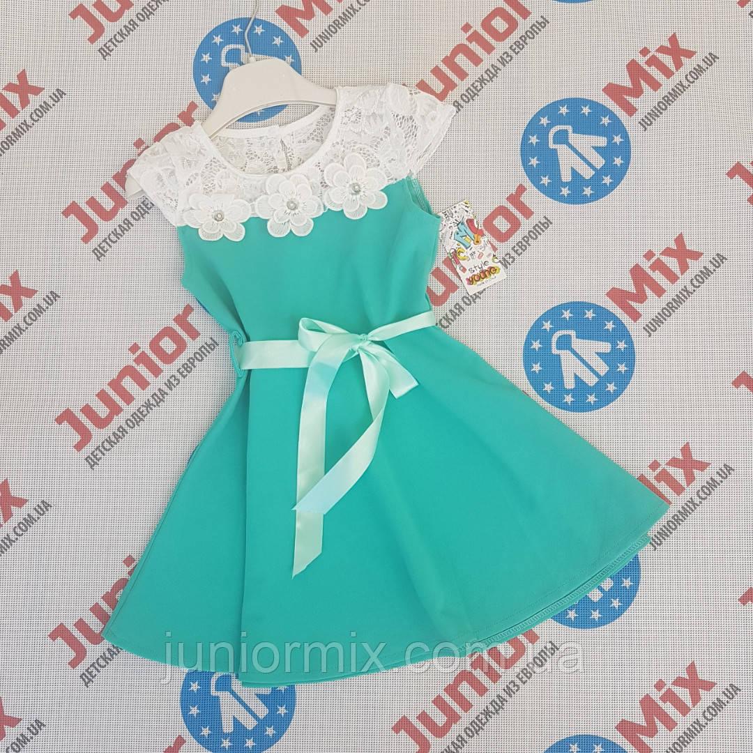Купить Детские нарядные цветные платья для девочек оптом STYLE в ... 747a3039dec