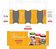 Упаковка для стеклянных баночек под специи