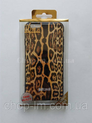 "Чехол для iPhone 6G/4.7 ""Леопард"""