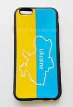 """Чехол для iPhone 6 """"Украина"""" (патриотический чехол)"""