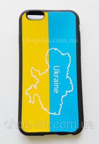 """Чехол для iPhone 6 """"Украина"""" (патриотический чехол), фото 2"""