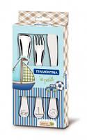 Детский набор столовых приборов Tramontina Baby Le Petit Blue 66973/000 3 пр