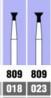 Бор алмазный конус (размеры:018-023) Oko Dent (Германия) NaviStom