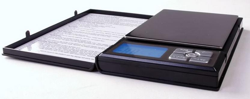 Ювелирные весы до 0.01-500гр в виде блокнота