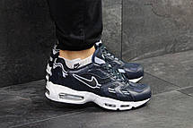 Кроссовки мужские Nike air max 95,синие с белым, фото 3