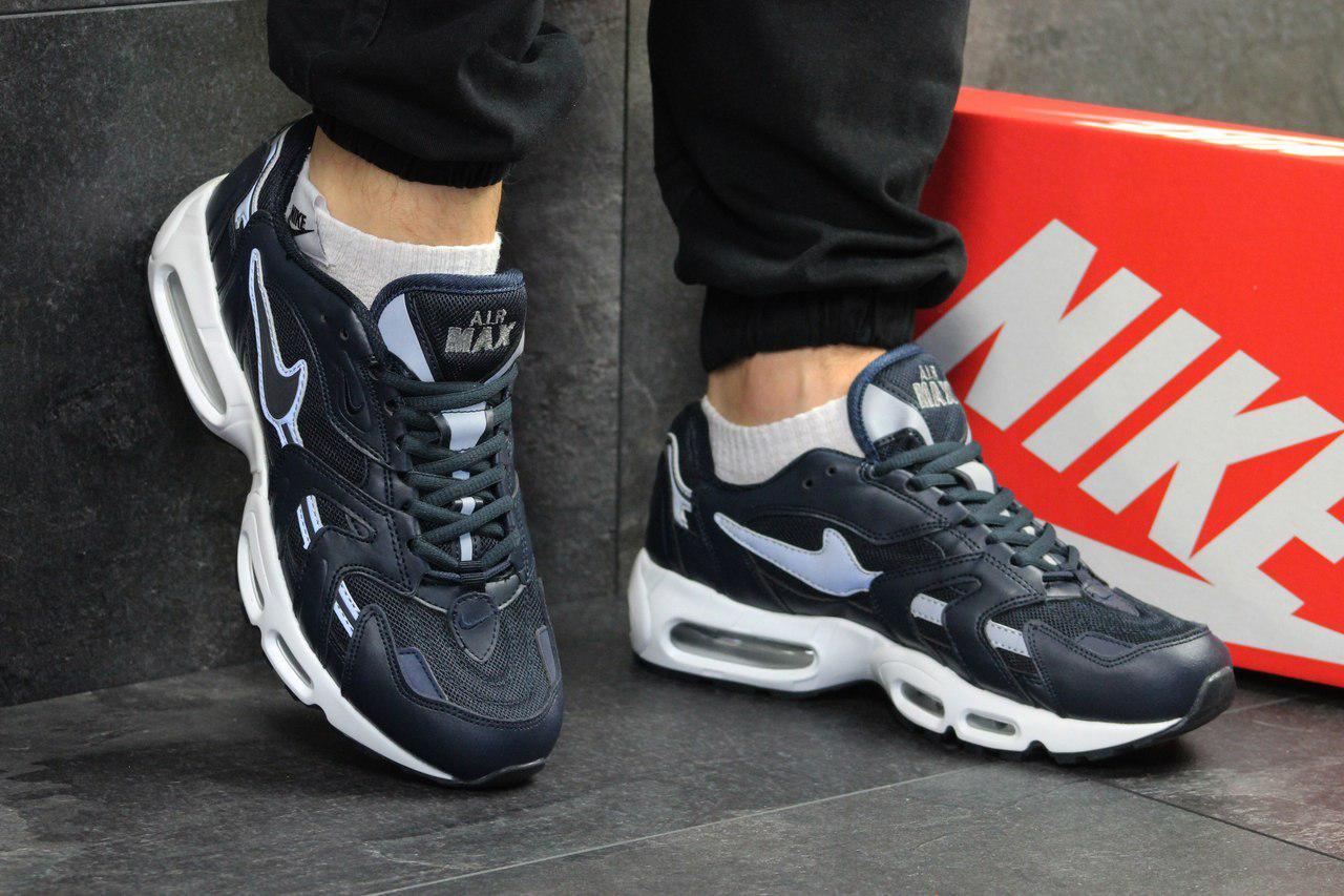 Кроссовки мужские Nike air max 95,синие с белым
