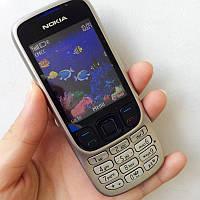 """Мобильный телефон Nokia 6303 (S322i) white белый (2SIM) 2,2"""" 1,3 Мп FM, MP3! Гарантия!"""
