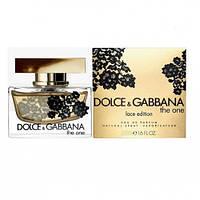 Парфюмированная вода женская DOLCE & GABBANA The One Lace Edition 75 мл