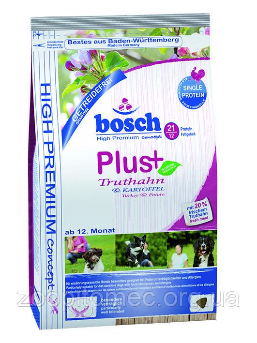 Корм беззерновой Bosch (Бош) HPC Plus Truthahn Kartoffel для собак схильних до алергії з індичкою і картоплею, 2,5 кг