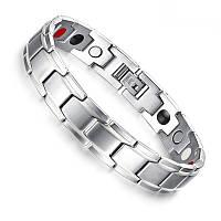 Браслет магнитный Vinterly iron man (silver)