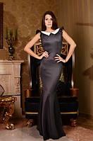 Длинное платье с бантом на спине (2 цвета) 425