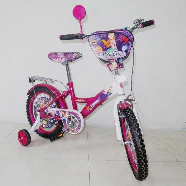 Велосипед двухколесный Tilly Русалочка 16'' T-216210