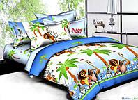 Мадагаскар подростковое постельное белье ранфорс Viluta