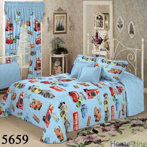Тачки (5659) подростковое постельное белье ранфорс Viluta